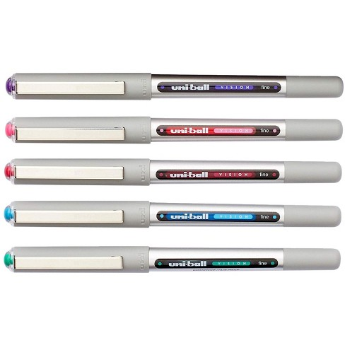 uni-ball Vision Stick Roller Ball Pens, 0.7 mm Fine Tip, Assorted Colors, set of 12 - image 1 of 1