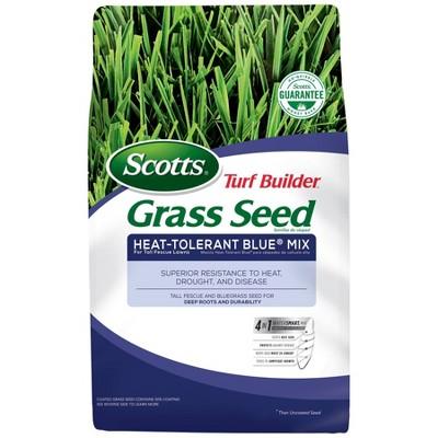 Scotts Turf Builder Heat Tolerant Blue Mix Grass Seeds - 7lb