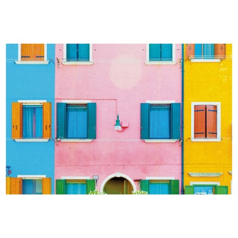 """24""""x36"""" Burano 6 By Kyle Goldie Art On Canvas - Fine Art Canvas - image 1 of 4"""