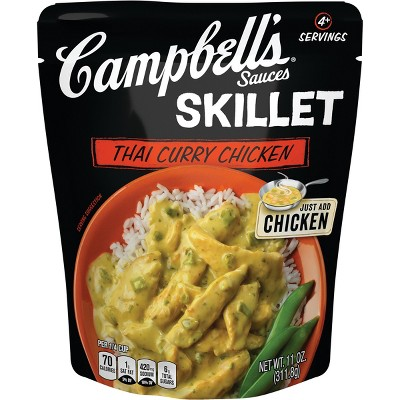 Campbell's Sauces Skillet Thai Curry Chicken 11oz