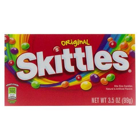 Skittles Original Bite Size Candies Theater Box 35oz12ct Target