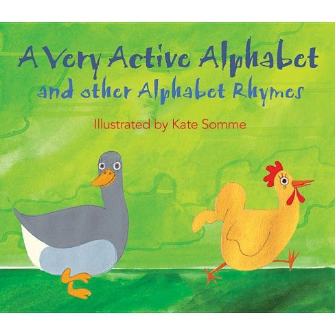 A Very Active Alphabet - (Paperback) - image 1 of 1