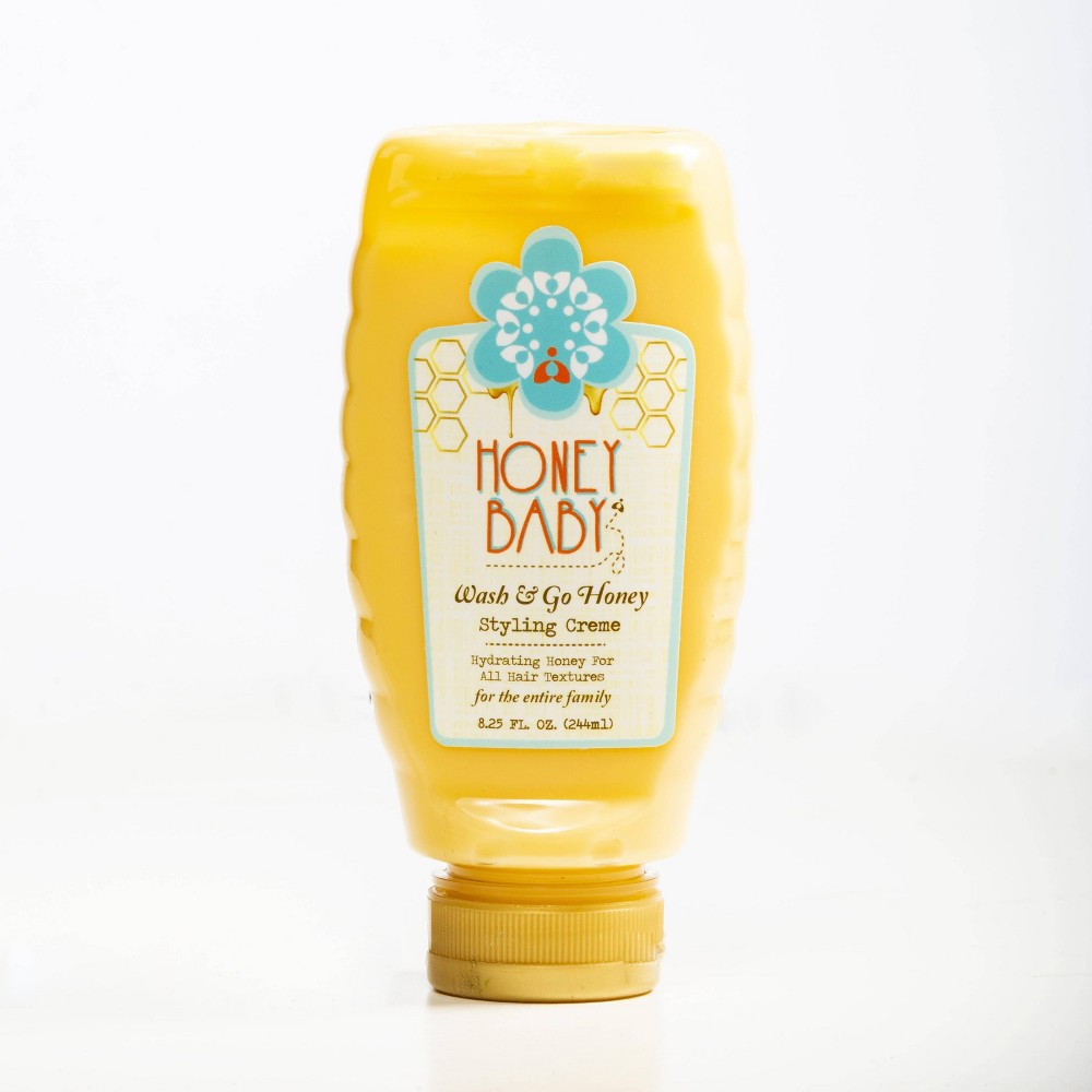 Image of Honey Baby Wash & Go Honey Styling Creme - 8.25 fl oz