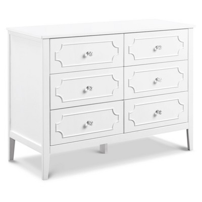 DaVinci Chloe Regency 6-Drawer Dresser - White