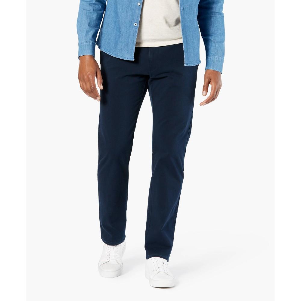 Dockers Men 39 S Straight Fit Smart 360 Flex Ultimate Chino Pants Blue 31x30