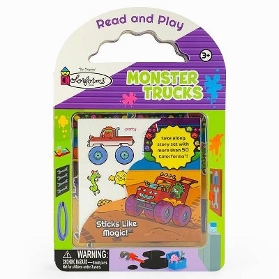 Monster Trucks - (Colorforms Activity Books) by  Rufus Downy (Board Book)