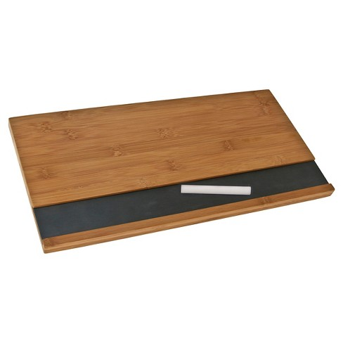 Thirstystone Slate and Bamboo Serving Board with Chalk - image 1 of 1