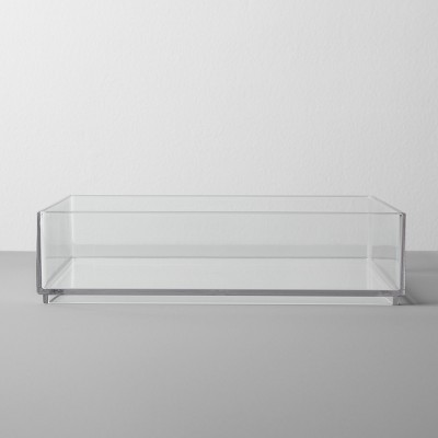 Plastic Organizer Tray 8 W X 8 D X 2 H Clear - Made By Design™
