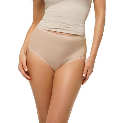 Leonisa Leonisa no show high waist underwear for women - Seamless classic brief -