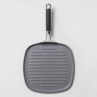 """Ceramic Coated Aluminum Grill Pan 11"""" - Made By Design™"""