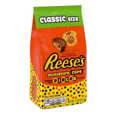 Reese's Miniatures Stuffed with REESE'S PIECES Minis Bag - 11oz - image 1 of 3