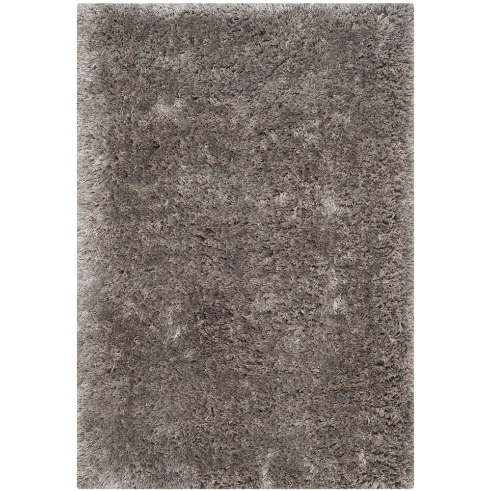 Silver Solid Tufted Accent Rug - (2'3X4') - Safavieh
