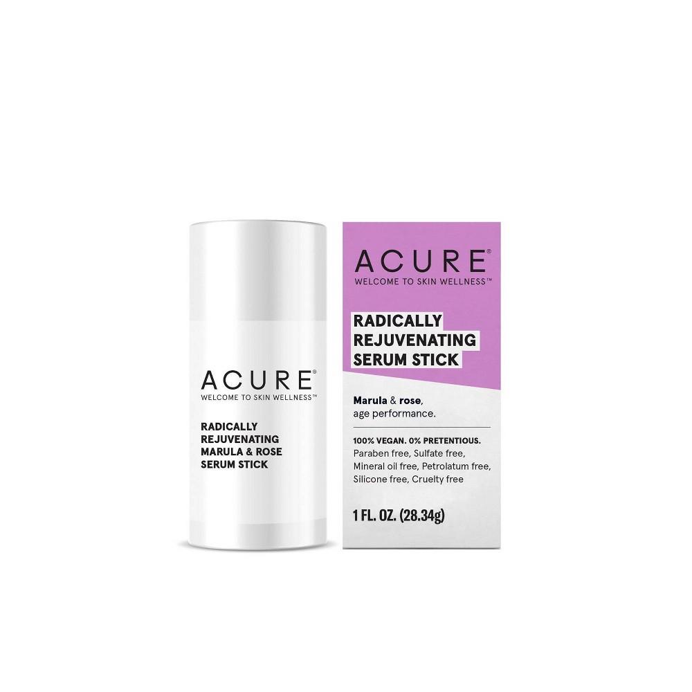 Image of Acure Radically Rejuvenating Marula & Rose Serum Stick - 1 fl oz