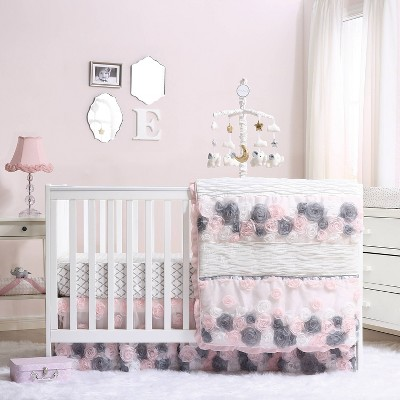 The Peanutshell Colette Crib Bedding Set 3pc