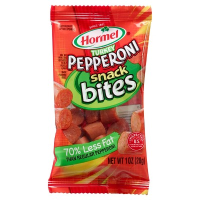 Hormel Turkey Pepperoni Bites - 1oz