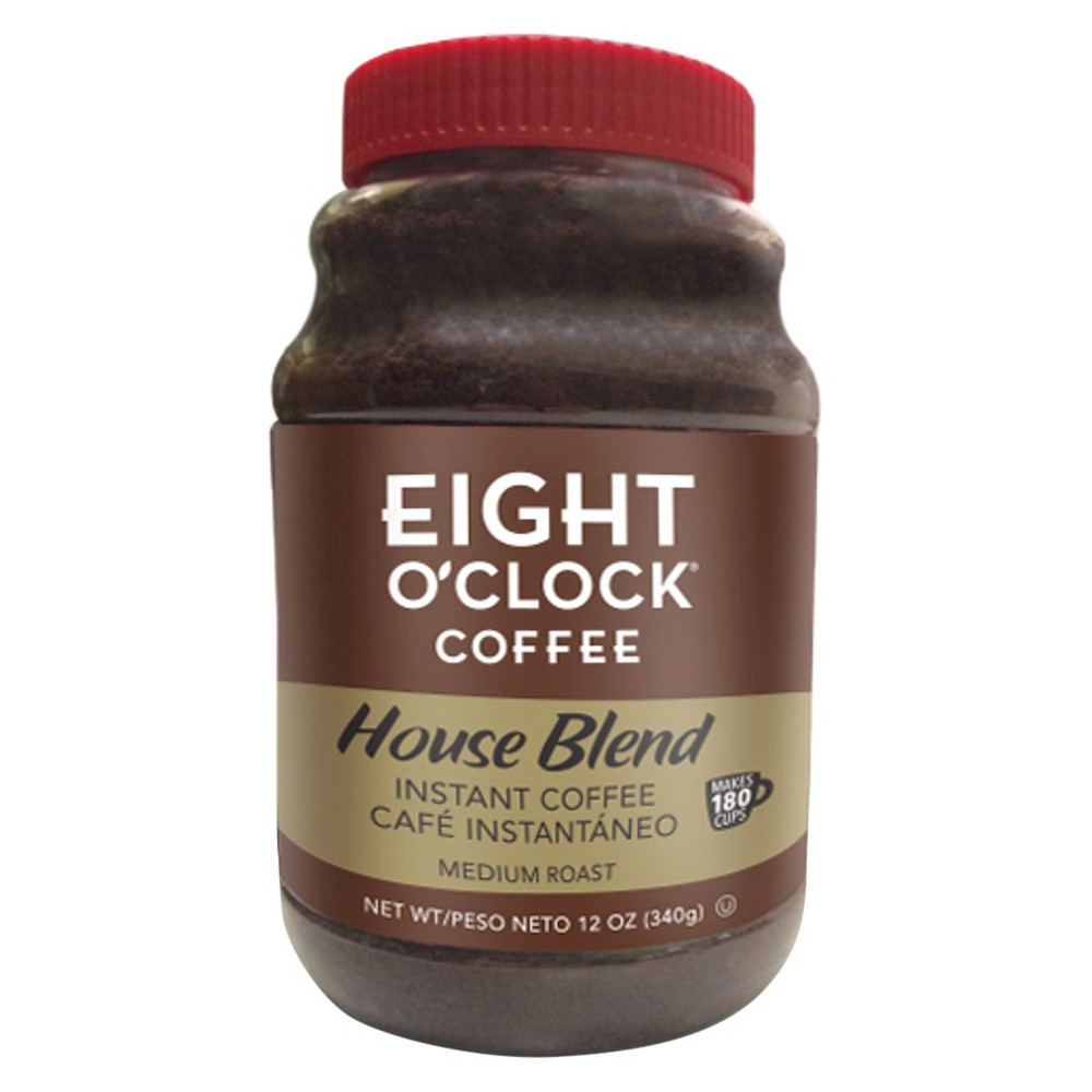 Eight O'Clock House Blend Medium Roast Instant Coffee - 12oz