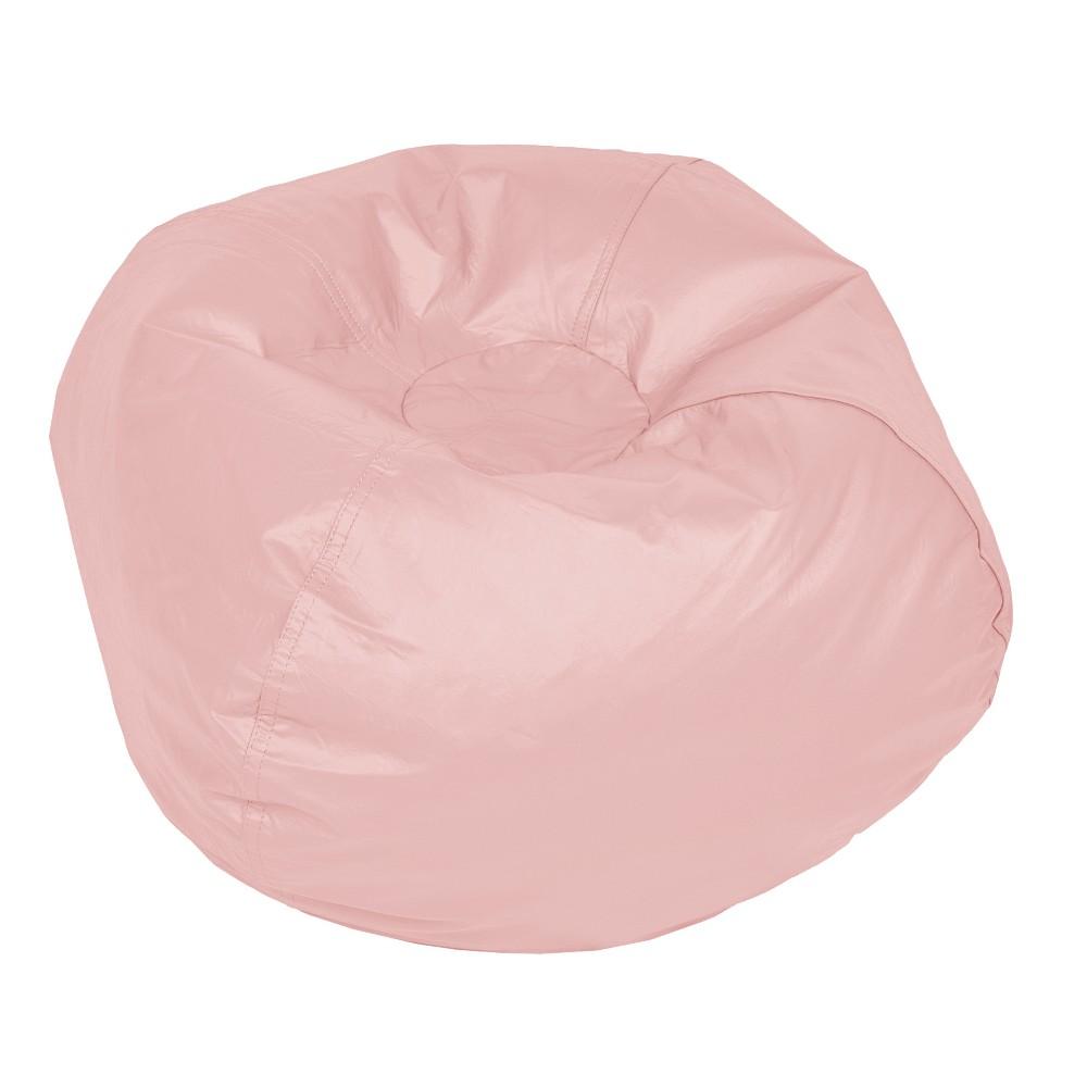 Vinyl Bean Bag Pink Lemonade - Acessentials, Stone Gray