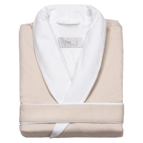 Platinum Bath Robe S/M Cream - Cassadecor - image 1 of 2