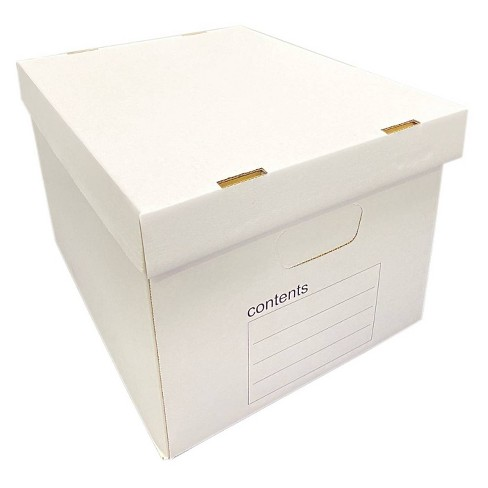 10pk Storage Filing Box Medium Duty Letter/Legal - up & up™ - image 1 of 4