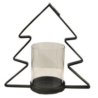 "Christmas 12.5"" Metal Christmas Tree (Med) Candle Holiday  -  Candle Holders"