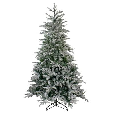 Northlight 6.5' Flocked Winfield Fir Artificial Christmas Tree - Unlit