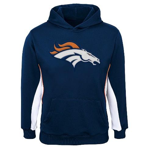 2051d8e1 Denver Broncos Boys'' Hooded Sweatshirt