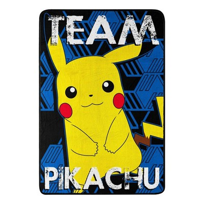 Pokemon Twin Team Pikachu Bed Blanket