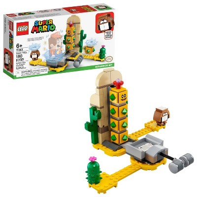 LEGO Super Mario Desert Pokey Expansion Set Collectible Building Toy for Creative Kids 71363