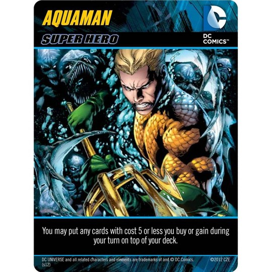 DC Comics Deck-Building Card Game image number null