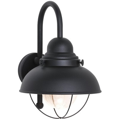 Generation Lighting Sebring 1 light Black Outdoor Fixture 887193S-12