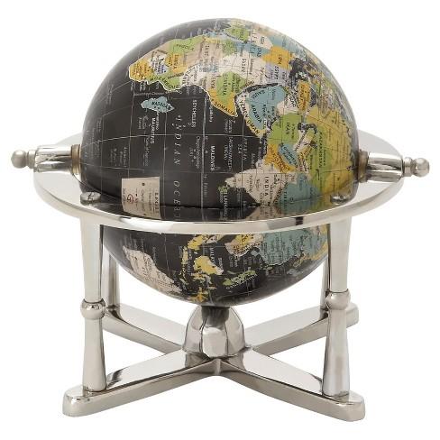 Modern Reflections Desk World Globe 7 Olivia May