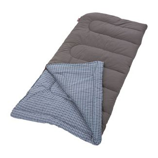 Coleman King Size Cold Weather 20 Degree Sleeping Bag - Blue/Gray