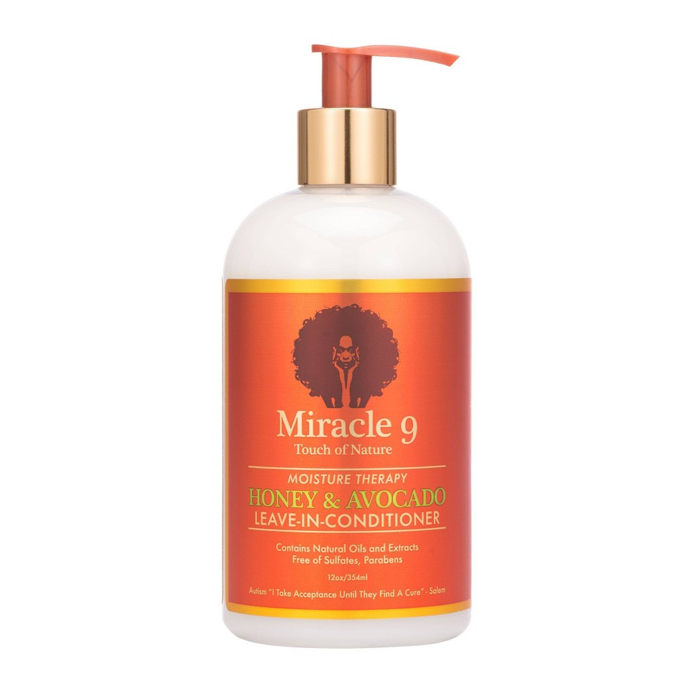 Image of Miracle 9 Moisture Therapy Leave-In-Conditioner - 12 fl oz
