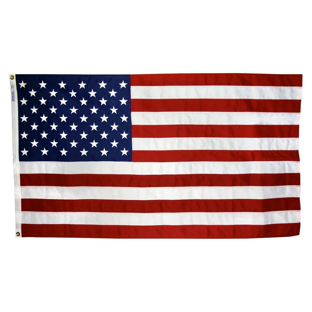 Image of Halloween Nyl-Glo - American Flag - 2.5' x 4'