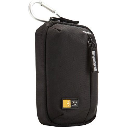 Case Logic TBC-402 Carrying Case Camera - Black - Tear Resistant, Wear Resistant - Dobby Nylon - Carabiner Clip, Belt Loop - image 1 of 2
