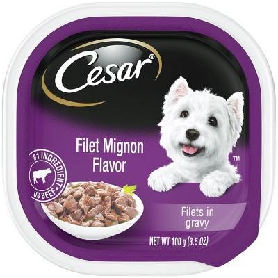 CESAR Filets Wet Dog Food - 3.5oz