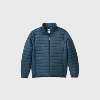Men's Big & Tall Fullzip Lightweight Puffer Jacket - Goodfellow & Co™