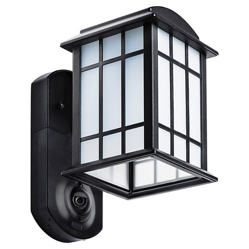 Craftsman Smart Security LED Outdoor Wall Light Black - Maximus - image 1 of 3