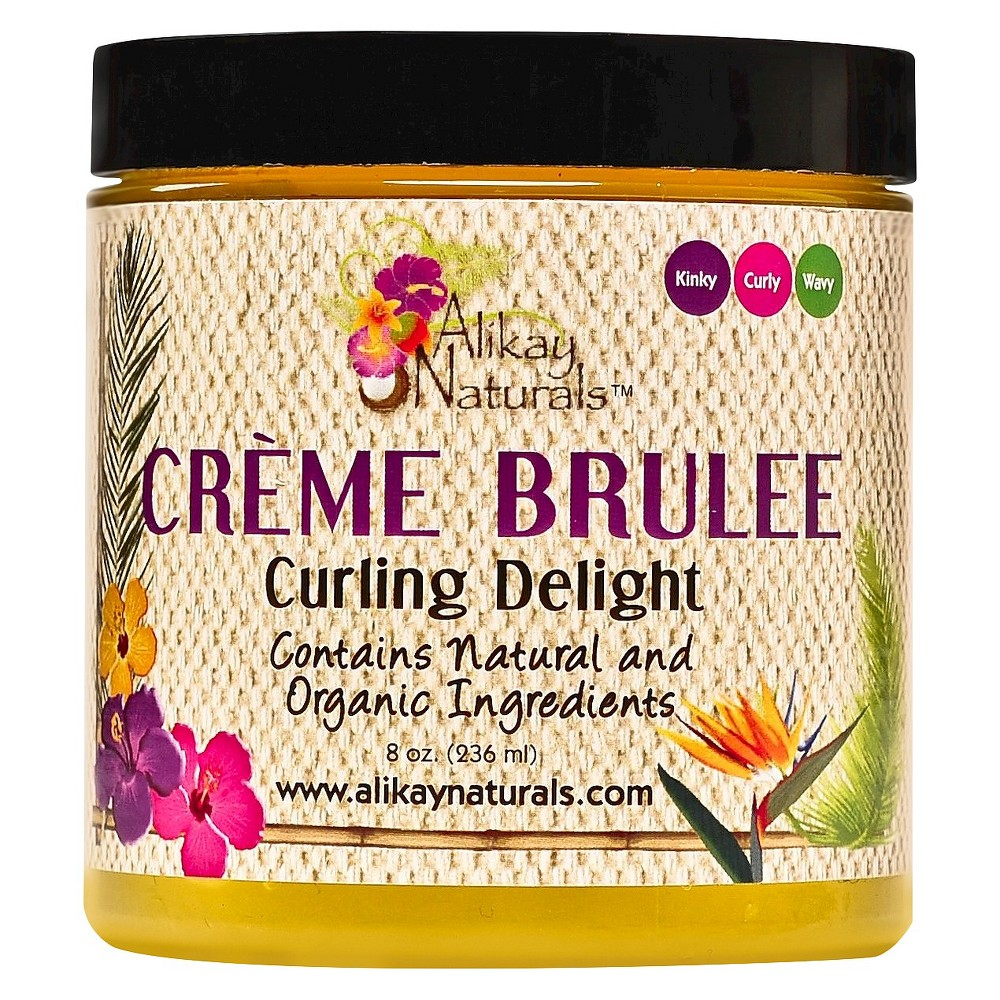 Image of Alikay Naturals Hair Curling Custard - 8oz