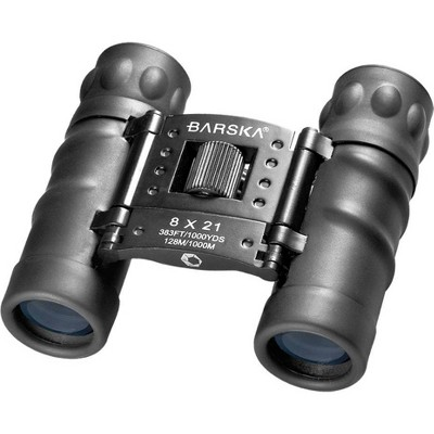 Barska 8x21mm Style Compact Lens Binoculars - Black