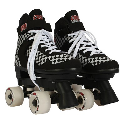 Circle Society Adjustable Skate - Street Checkered 3-7