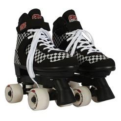 Circle Society Adjustable Skate - Street Checkered 3-7