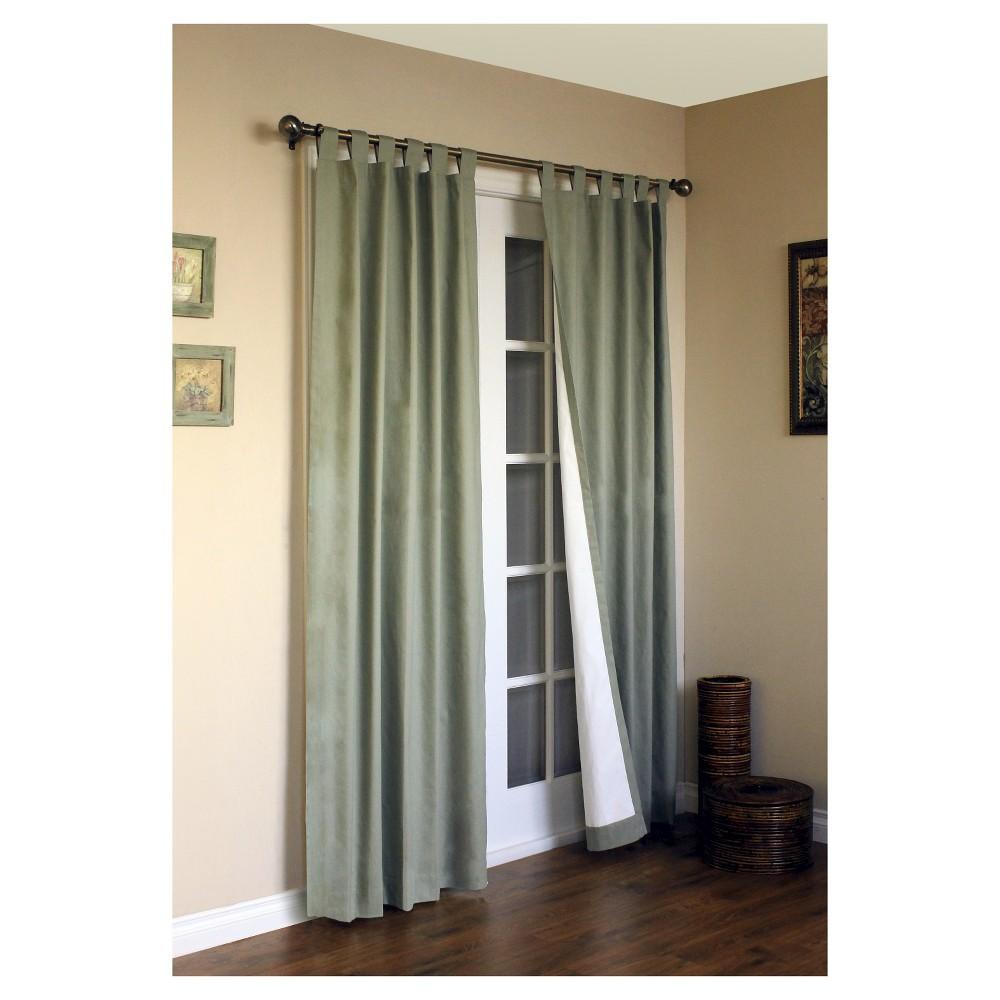 Weathermate Tab Curtain Panel Pair - Sage (Green) (80 x 54)