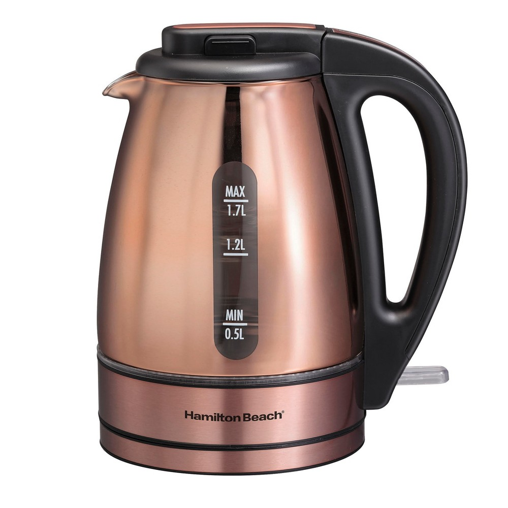 Hamilton Beach Electric Kettle Copper 40866