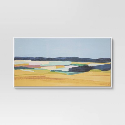 """24"""" x 47"""" Meadowscape Canvas Floating Frame - Project 62™"""