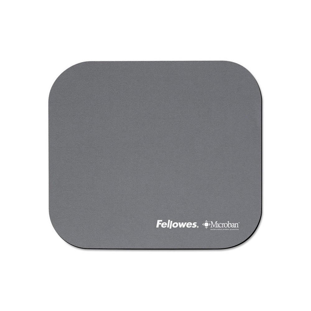Image of Fellowes Microban Mouse Pad - Graphite