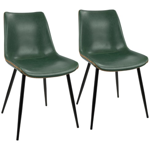 Set of 2 Durango Industrial Dining Chair - LumiSource - image 1 of 4