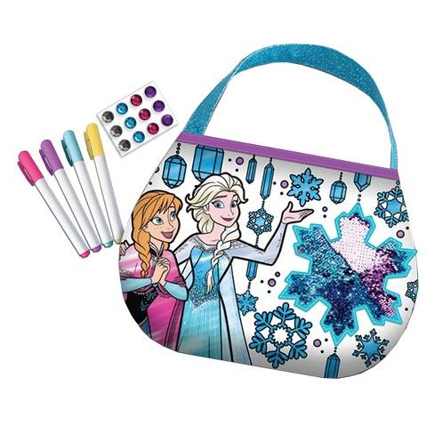 Disney Frozen Color N Style Sequins Purse Activity Kit - image 1 of 3