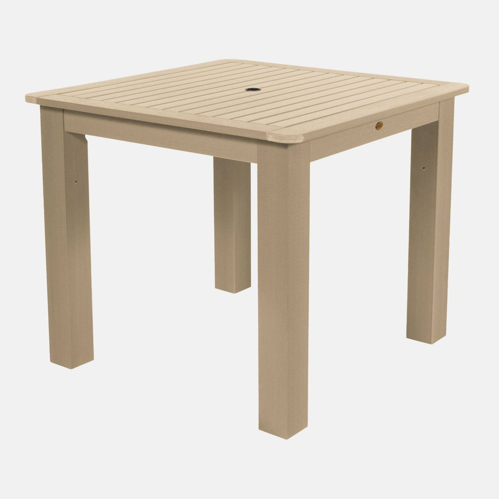 "Image of ""42"""" Square Counter Height Table Tuscan Taupe - highwood, Beige"""