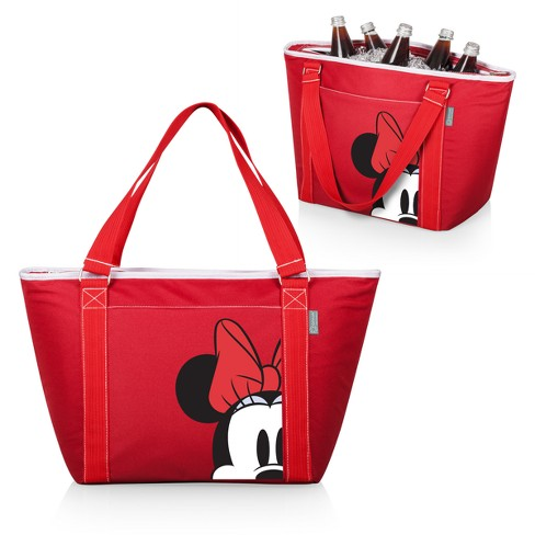 8d43cab9b32 Picnic Time Disney Minnie Mouse Topanga 24 Can Cooler Tote - Red ...